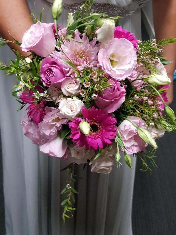 Kimmy Bridal Bouquet, classic, stylish wedding bouquet
