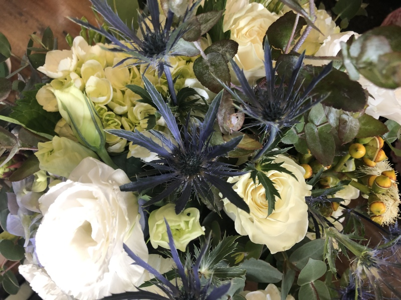 Seaholly Bridal bouquet wild natural wedding bouquet
