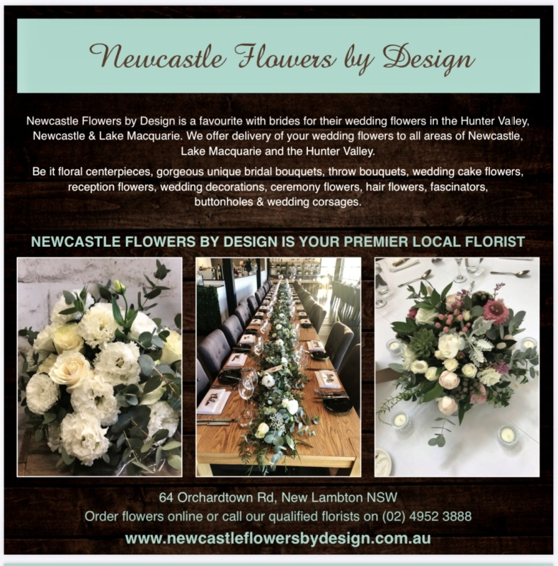 Newcastle Flowers By Design Weddings