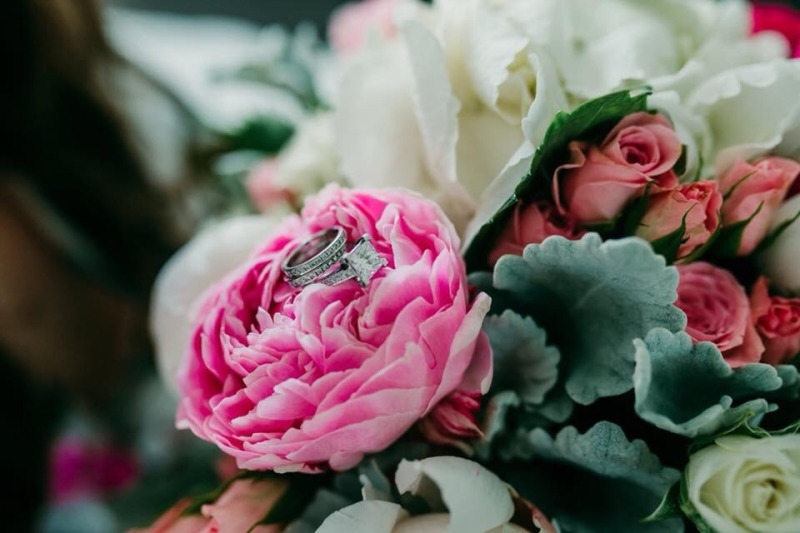 Wedding Flowers - Bridal Bouquet Peonies
