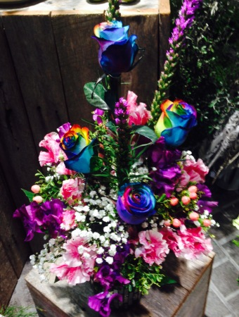 Disco Rainbow Arrangement
