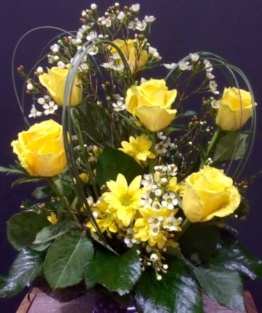 Yellow Delight Arrangement