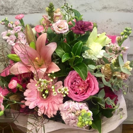 Powerful Pink Bouquet