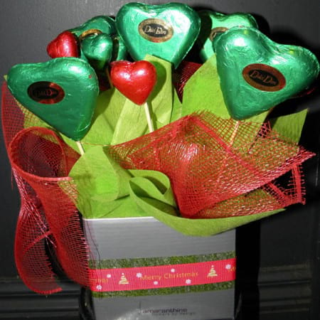Green Chocolate Box