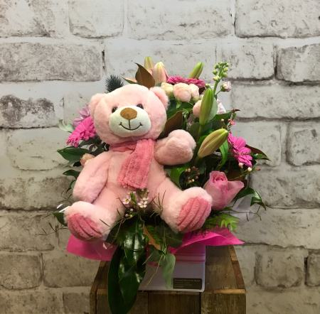 Baby Bear Love Arrangement
