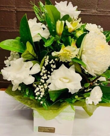 Wonders of White Arrangement