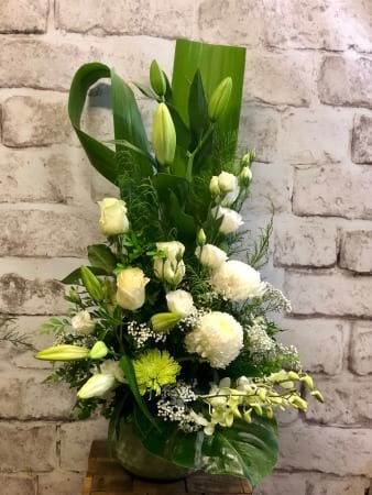 Tall White Arrangement