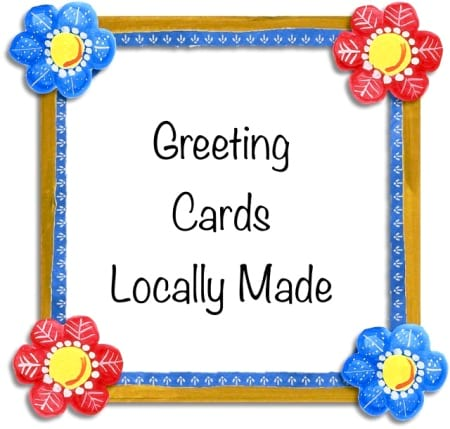 Greeting card Large - Locally Made