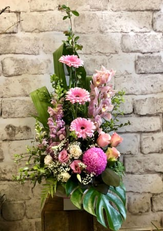 Tall Pink Arrangement