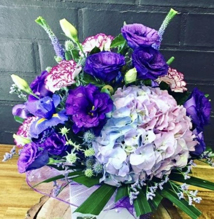 Purple Perfection Arrangement