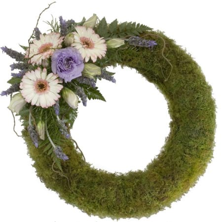 Moss Wreath Arrangement